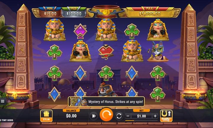 3 Tiny Gods - Video Slot Game