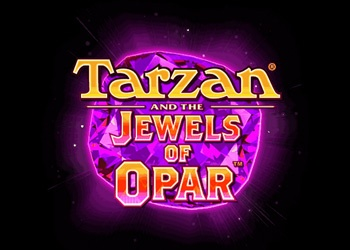 Tarzan and the Jewels of Opar - Logo - Video Slot Game
