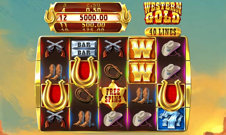 Western Gold - Video Slot - Game