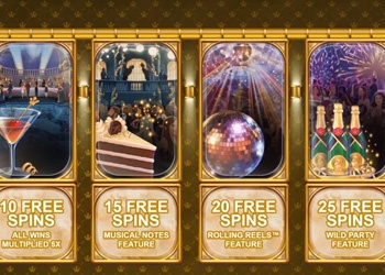 Casino Rewards 20 Year Celebration - Video Slot - Info