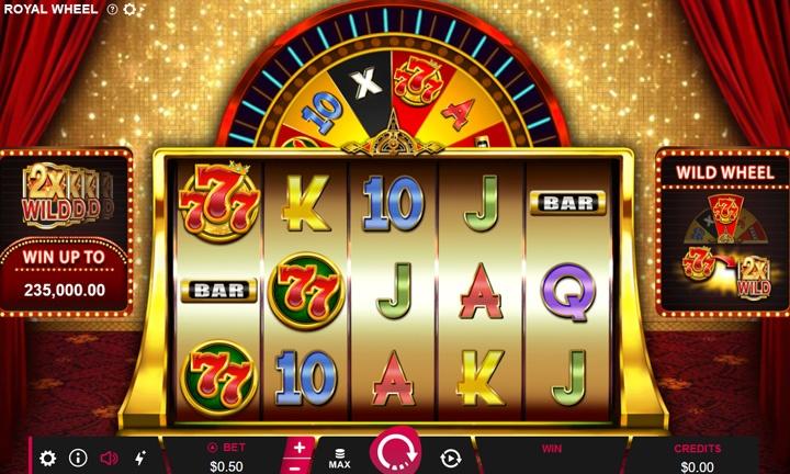 777 Royal Wheel - Video Slot - Game