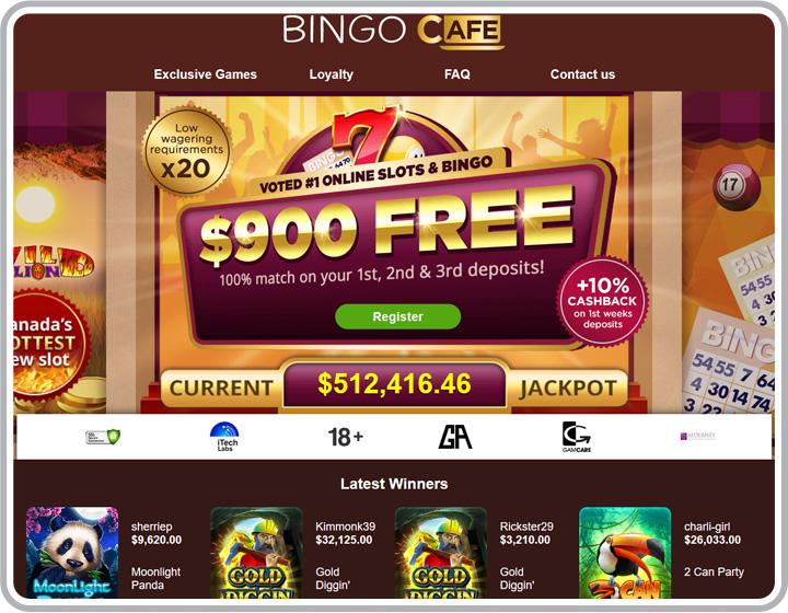 Bingo Cafe