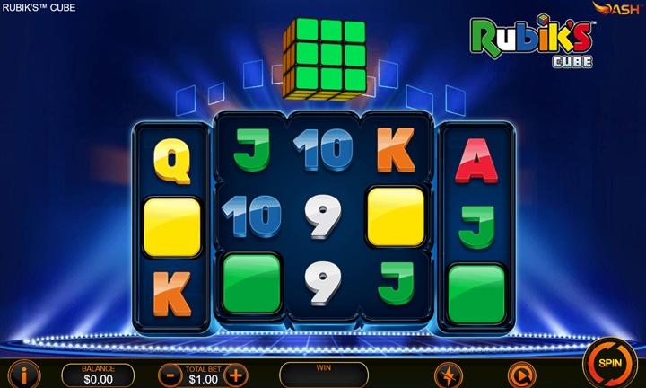SIA - Exclusive Slot Game - Rubik's Cube