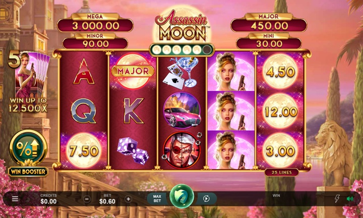 Assassin Moon - Game - Video Slot