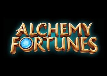 Alchemy Fortunes - Logo - Video Slot