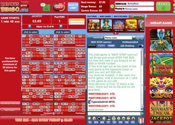 90 Ball Bingo - RedBus Bingo
