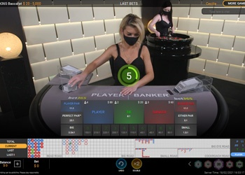 Baccarat - Live Table Game - bet365