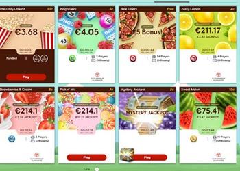 Bingo Lobby - Tasty Bingo