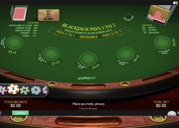 Blackjack - Table Game - Bet365 Casino