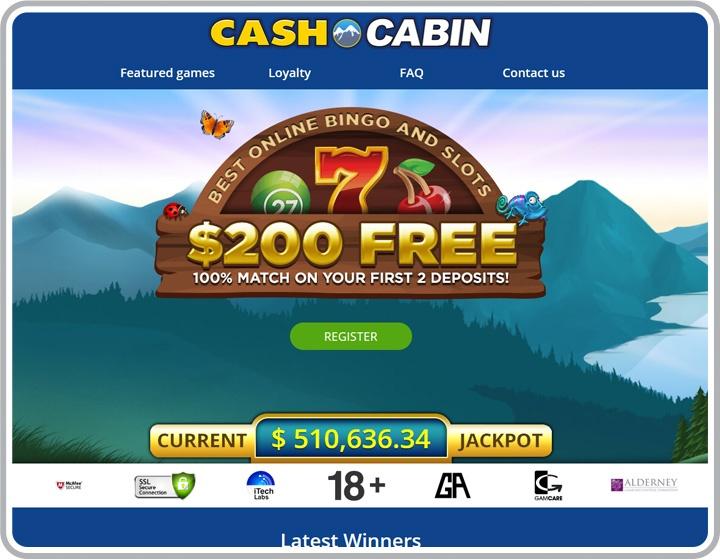 Cash Cabin Website