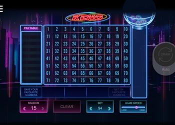 Keno - Bet365 Casino