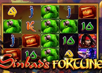 Sinbads Fortune - Slot Game - Bingo Liner