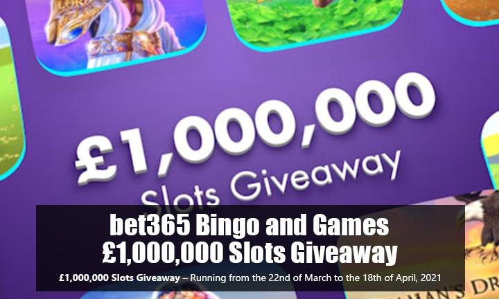 1M Slot Giveaway - Bingo Promo