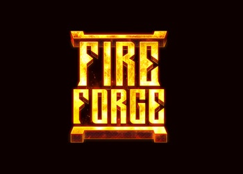 Fire Forge - Logo - Video Slot