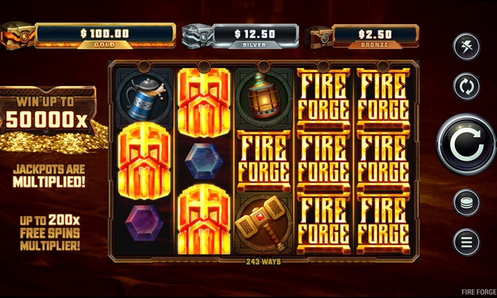 Fire Forge - Video Slot - Game