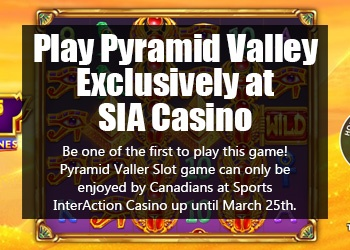 Pyramid Valley Slot Game Exclusively at SIA Casino