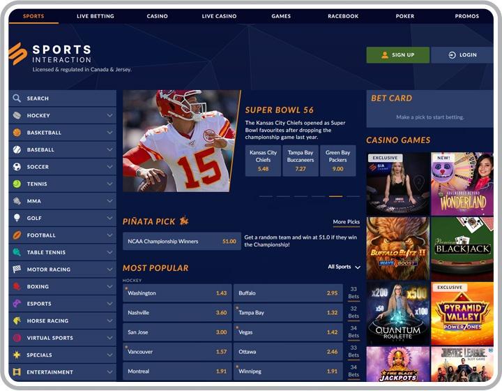 Sports InterAction Website