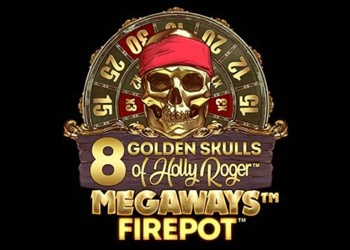 8 Golden Skulls of Holly Roger Slot Game Promo