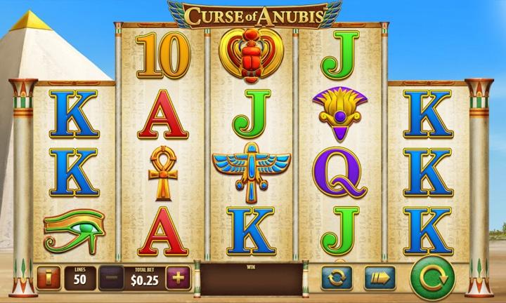 Curse of Anubis - Video Slot-Game
