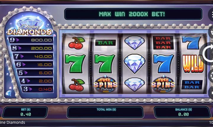 Divine Diamonds - Video Slot - Game