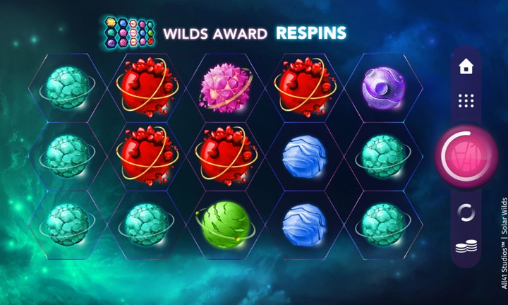 Solar Wilds - Video Slot - Game