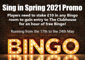 bet365 Sing in Spring Bingo Promo 2021