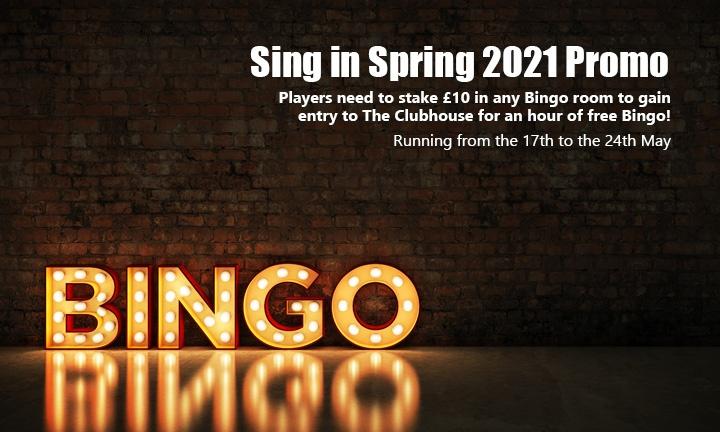 bet365 Sing in Spring - Bingo Promo