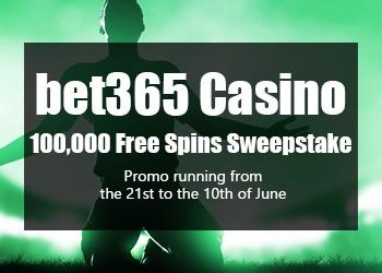 bet365 Casino Free Spins 2021