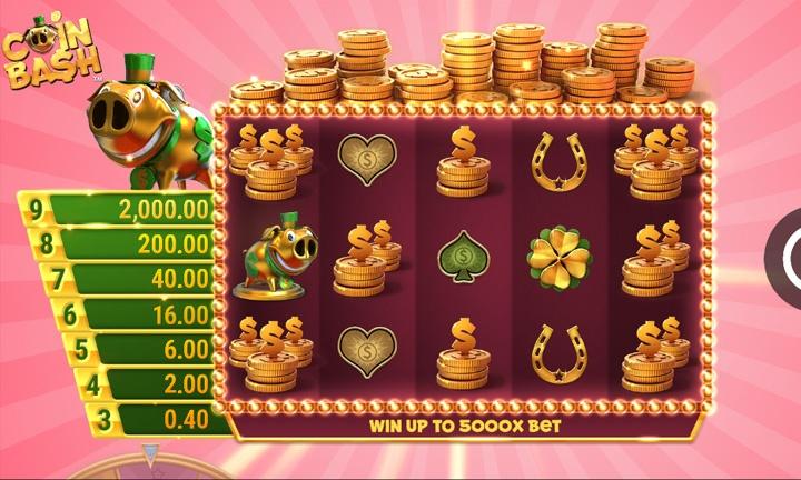 Coin Bash Slot Game Image
