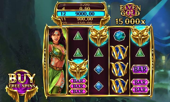 Elven Gold Slot Game Image