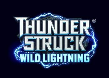 Thunderstruck Wild Lightning - Logo - Video Slot