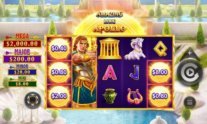 Amazing Link Apollo Slot Game Image - September 2021 Slot Promotion