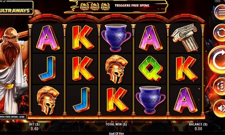 God of Fire Slot Game Image