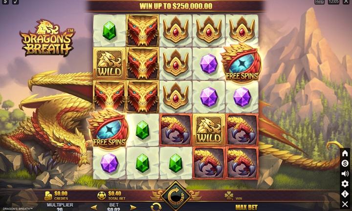 Dragons Breath Slot Game Image
